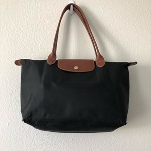 Longchamp bag.